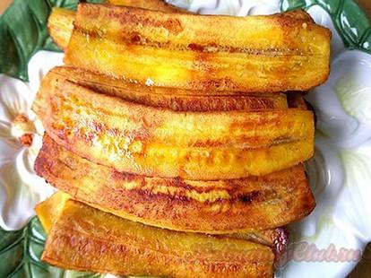 Запеченные бананы в мультиварке