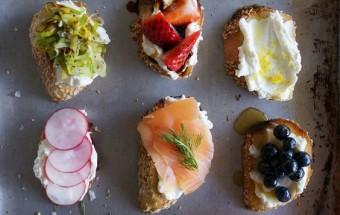 Бутерброды с сыром Рикотта 10 вариантов