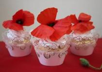 Бисквитные кексы(маффины, капкейки) с маком./Рецепт с фото