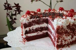 "торт ""Красный бархат! классический рецепт"