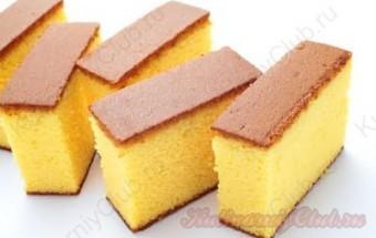 Мягкие и пышные бисквитные пирожные