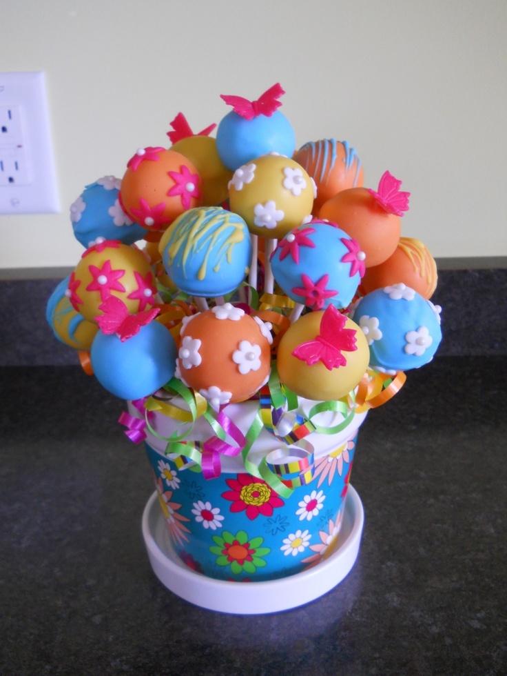кейк попсы в силиконовой форме