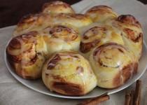 Тесто для булочек в хлебопечке.