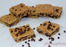Песочное печенье с шоколадными каплями