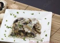 Итальянская кухня — Рагу из грибов со сливками