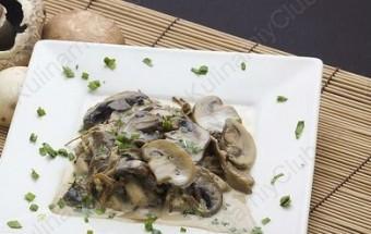 Итальянская кухня - Рагу из грибов со сливками