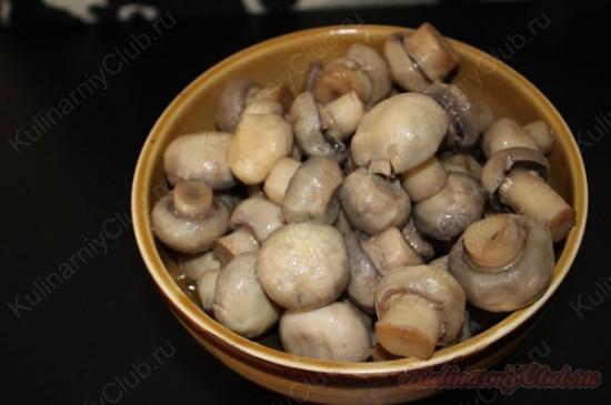 Маринованные грибочки(шампиньоны)