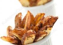 Запеченные пряные картофельные дольки
