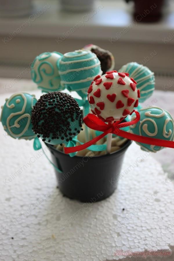 Кейк попсы с нутеллой и печеньем орео
