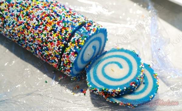 Печенье спиральное