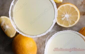 Лимонный коктейль фото