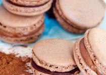 Шоколадные Макаруны Macarons