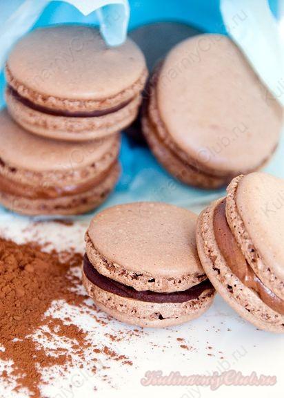 Шоколадные Макаруны Macarons  фото