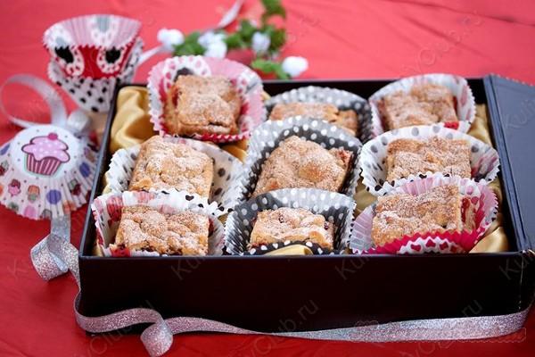 Ореховое печенье с вареньем