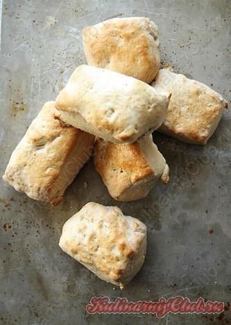 Несладкое сырное печенье фото