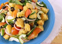 Полезный овощной салат