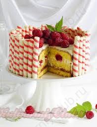 Как красиво и просто украсить торт?