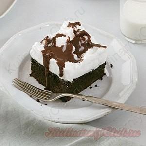 Торт-безе кофейный фото