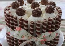 Кокосовый торт-суфле