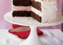 Торт-мороженое с мятой