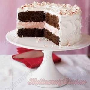 Торт-мороженое с мятой фото