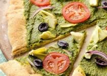 Средиземноморская Песто Пицца