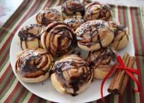 Вкусные булочки с корицей